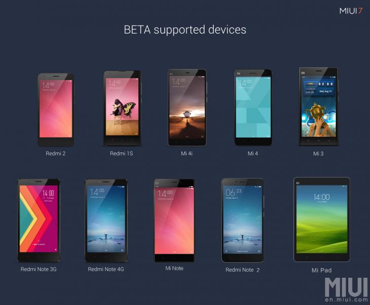 Xiaomi Mi 3, Mi 4 и Mi Note в ближайшее время получат MIUI на Android M