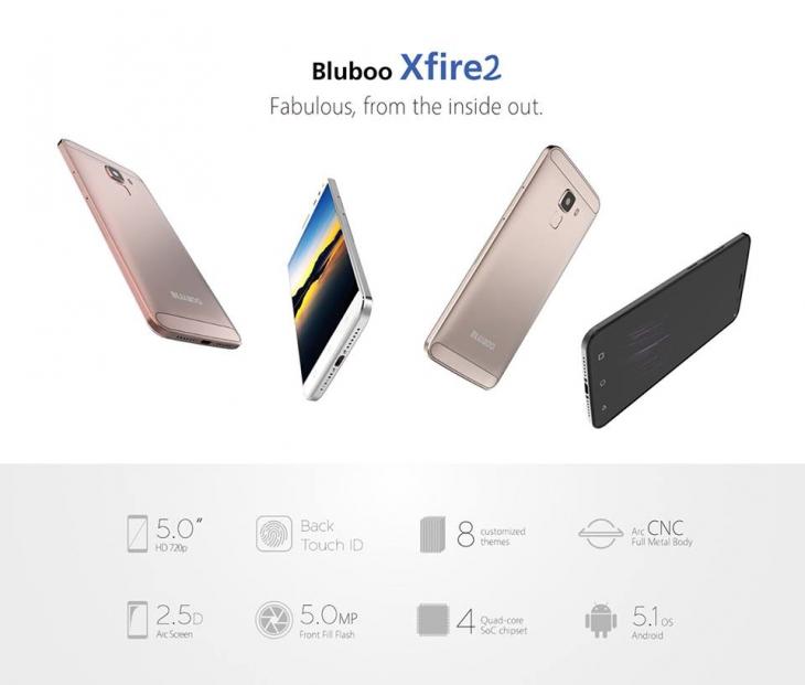 Bluboo Xfire 2 с тремя SIM выйдет в феврале, а двухсимочная поступила в продажу
