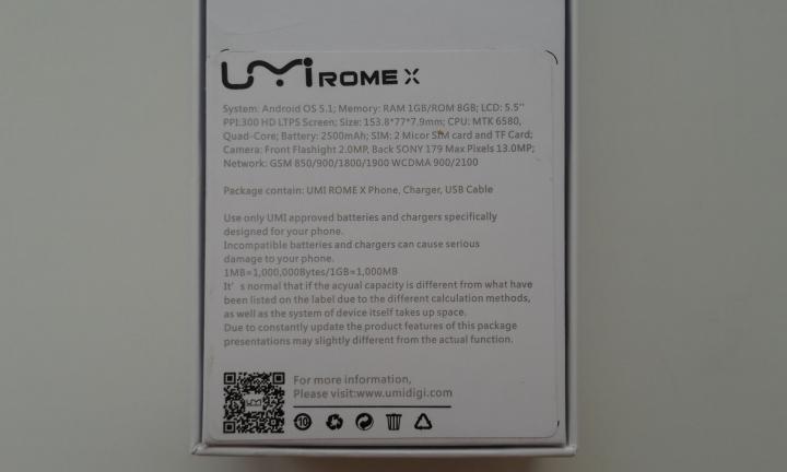 Umi Rome X - когда проще значит лучше