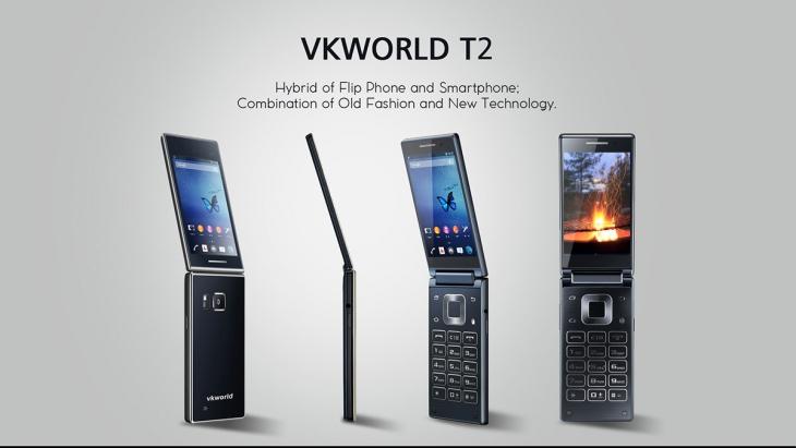 Характеристики и видео бюджетной раскладушки Vkworld T2