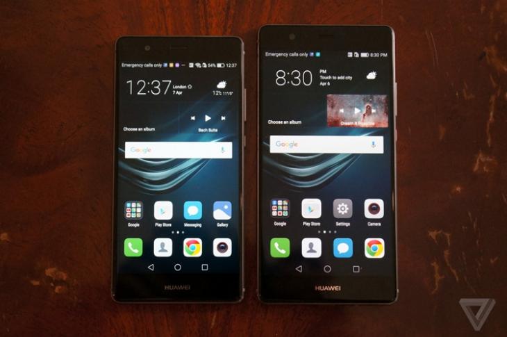 Представлены флагманы Huawei P9 и P9 Plus с камерами Leica