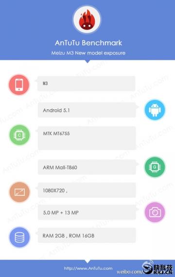 У Meizu M3 процессор MediaTek Helio P10, а не Snapdragon 616