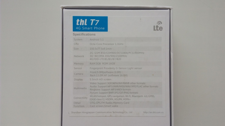 Обзор THL T7 - возрождение бренда