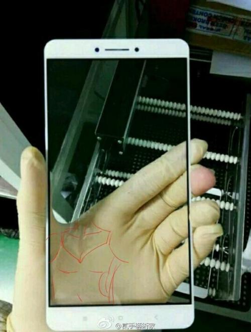 Реальное изображение фаблета Xiaomi Max
