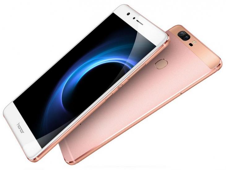 Представлен Huawei Honor V8 – 2K дисплей, двойная камера и фирменный Kirin 955