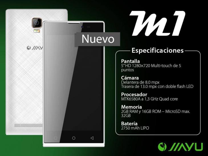 В ближайшее время выйдет новая модель Jiayu M1