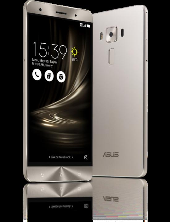 ASUS представила три новые смартфона, включая топ ZenFone 3 Deluxe со Snapdragon 820 и 6 ГБ RAM