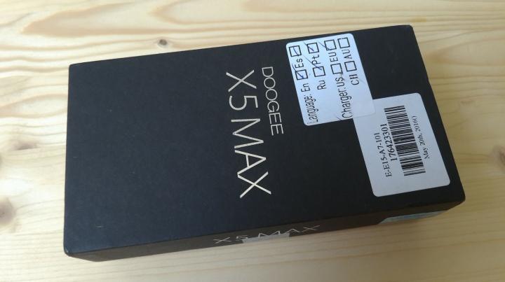 Doogee X5 MAX - заряженный бюджетник