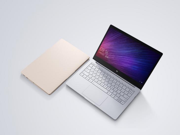 Представлены первые ноутбуки Xiaomi Mi Notebook Air