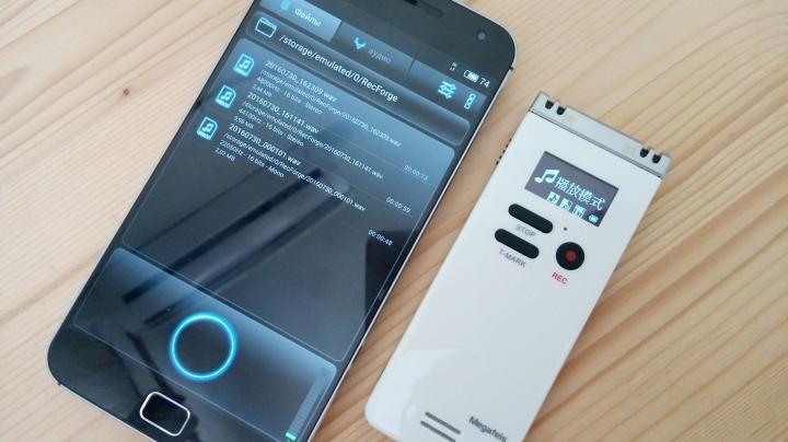 Обзор Megafeis F36 — диктофон для современной жизни