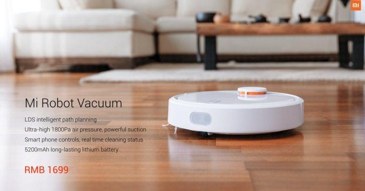 Xiaomi представила робот-пылесос
