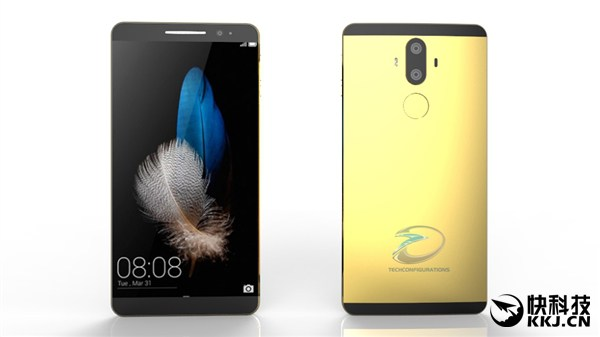 Huawei Mate 9 во всей красе на рендерах