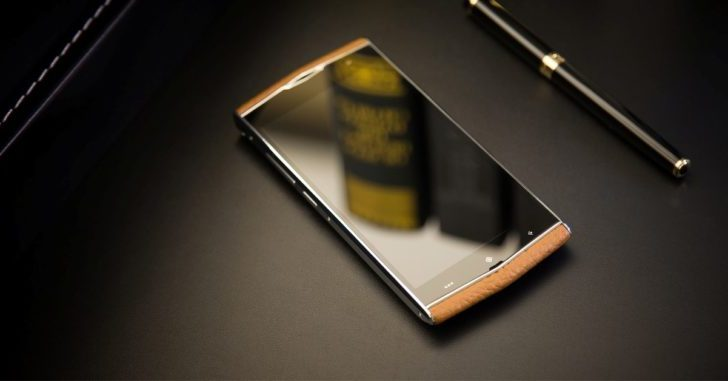 Leagoo V1 получит корпус из металла и кожи
