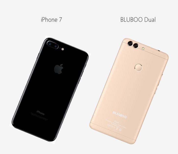 У Bluboo Dual будет две основные камеры Sony