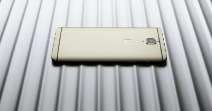 В Индии представят OnePlus 3 золотистого цвета