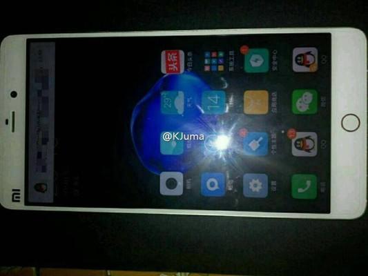 Появилось «живое» фото Xiaomi Mi 5S