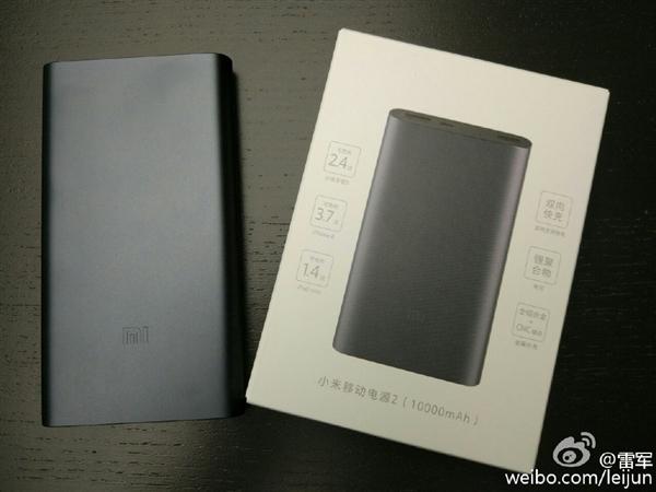 Лей Джун показал новый павербанк Xiaomi с разъемом USB Type-C