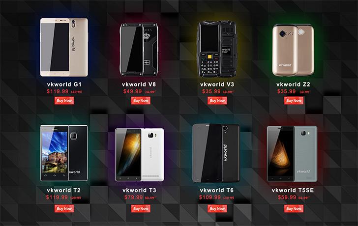 Большая распродажа смартфонов, розыгрыш и старт предзаказа на Vkworld T1 Plus Kratos