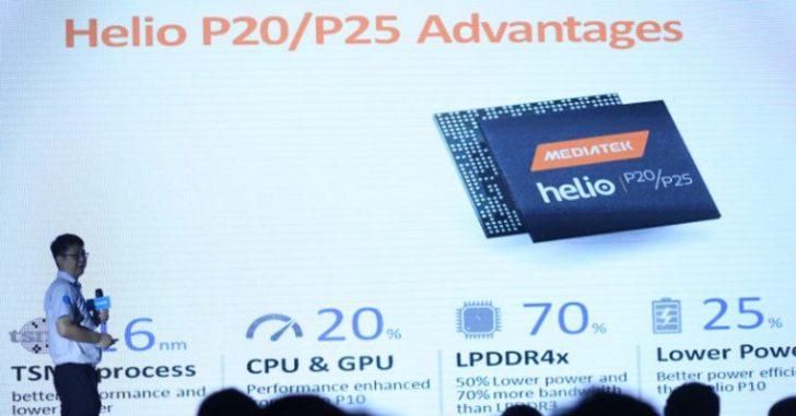 Подробности о MediaTek Helio P20 и P25