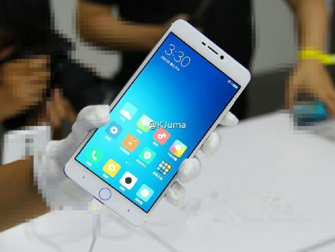 Xiaomi Mi 5S с кнопкой, как у iPhone