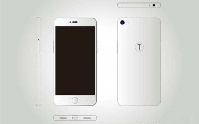 ������� Smartisan T3 ������ � ���� ������������