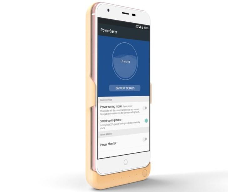 Чехол Matrix смартфона Oukitel K7000 может заряжать другие смартфоны