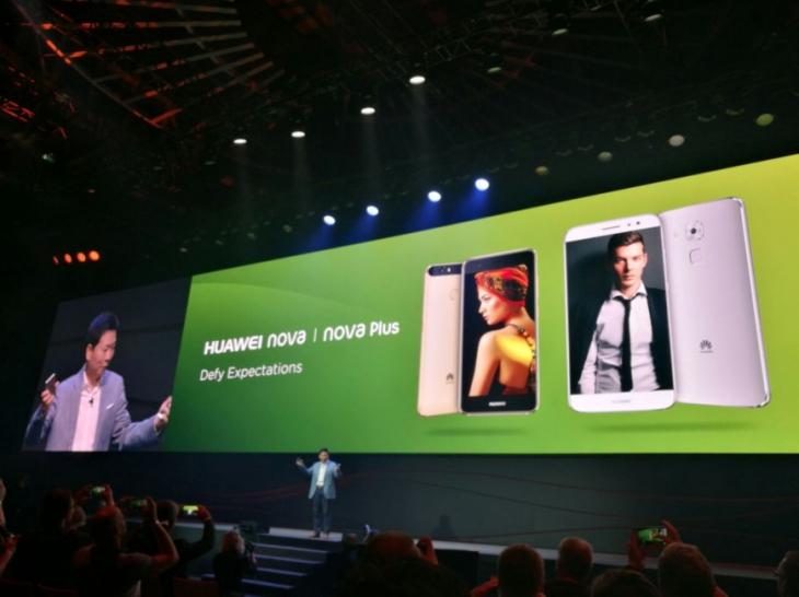 Huawei представила смартфоны Nova и Nova Plus, а также планшет MediaPad M3