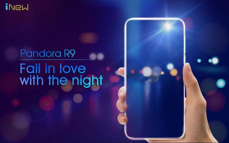 iNew Pandora R9 - новый смартфон для любителей селфи