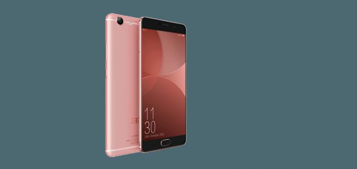 Elephone R9 в расцветке розовое золото