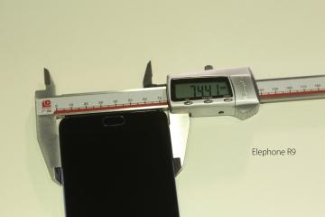 Elephone S7 и R9 сравнили с iPhone 7 Plus