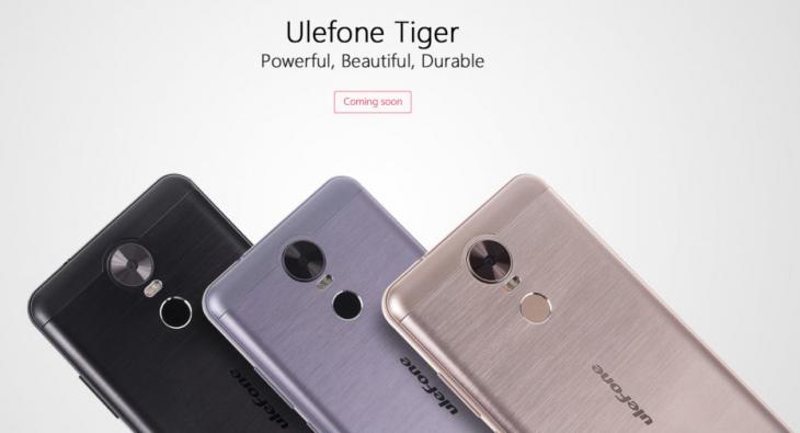 Ulefone Tiger получит батарею емкостью свыше 4000 мАч