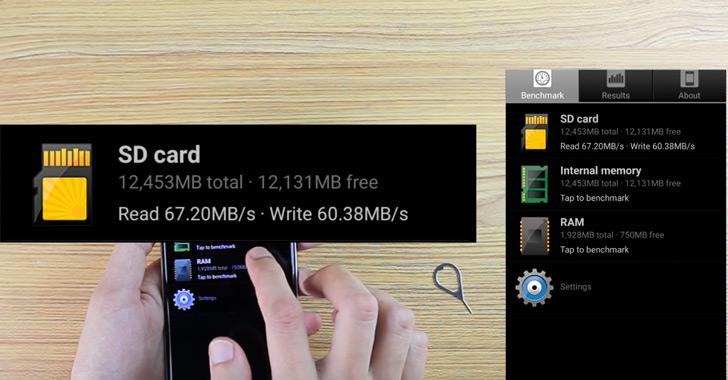 Bluboo Edge проверили на совместимость с картой памяти на 256ГБ