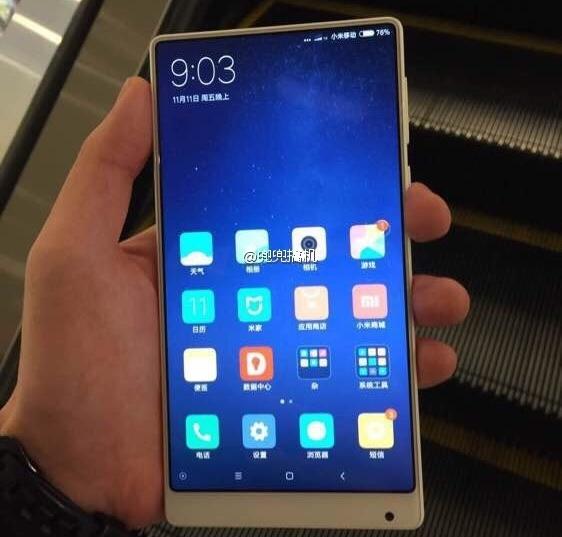 Xiaomi готовит белый Mi Mix?