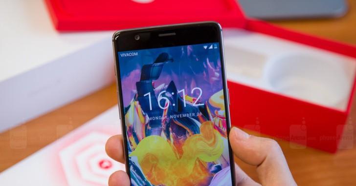 Выпущено первое OTA-обновление для OnePlus 3T