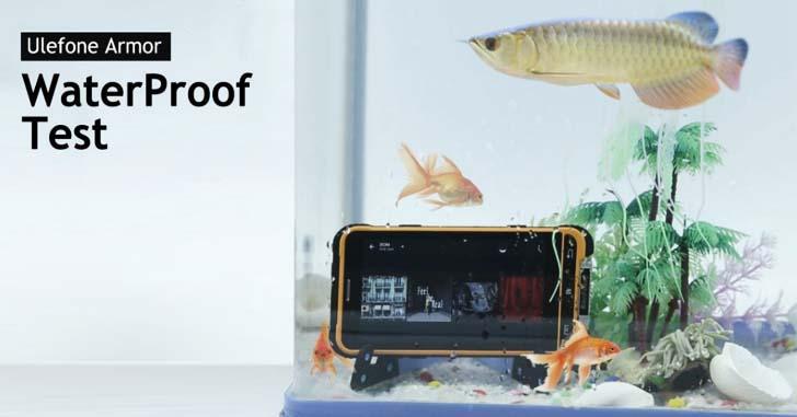 Влагозащищенность Ulefone Armor проверили в аквариуме