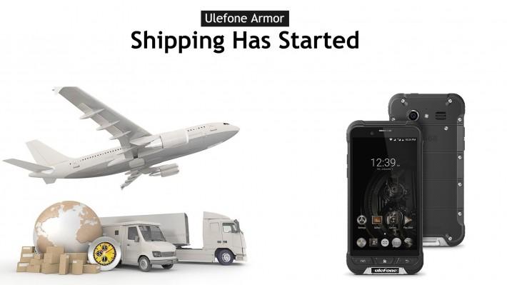Начались отгрузки Ulefone Armor