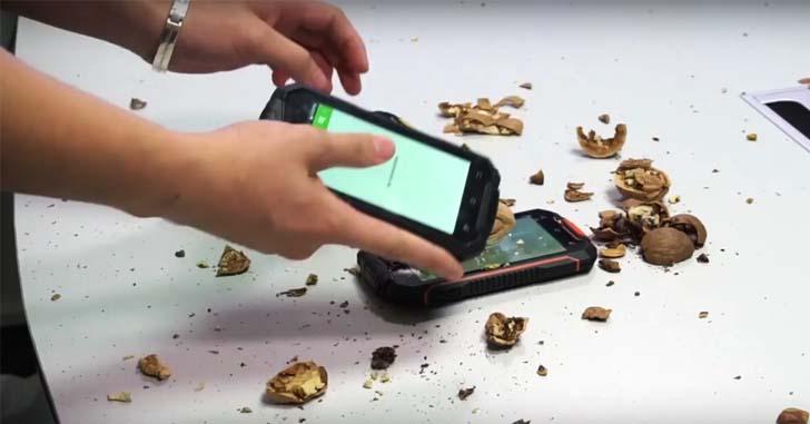 Новинка: Geotel A1 - защищенный по стандарту IP67 смартфон