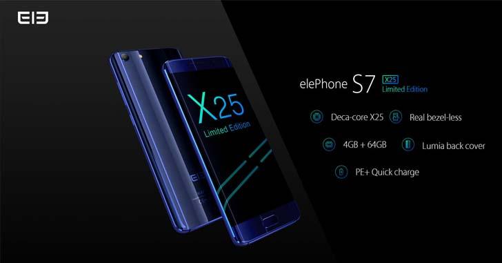 Elephone S7 Limited Edition выйдет ограниченной серией