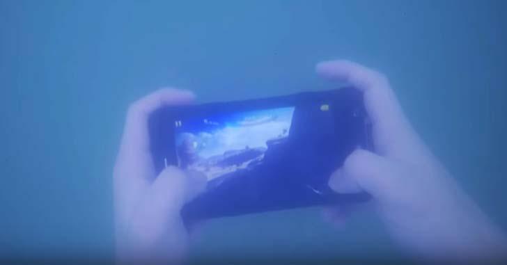 Защищенный смартфон Ulefone Armor проверили в соленой воде