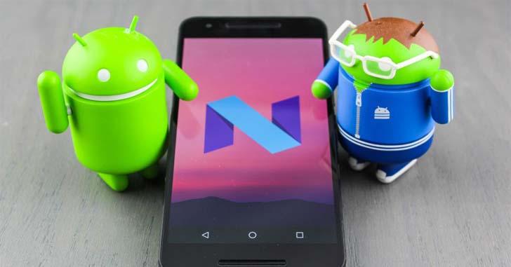 ОС Android 7.0 установлена всего на 0,4% Android-устройств
