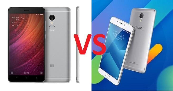 Сравнение Meizu M5 Note и Xiaomi Redmi Note 4
