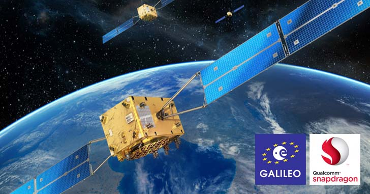 Процессоры Snapdragon поддерживают европейскую навигационную систему Galileo