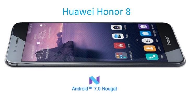Honor 8 получит Android 7 в феврале