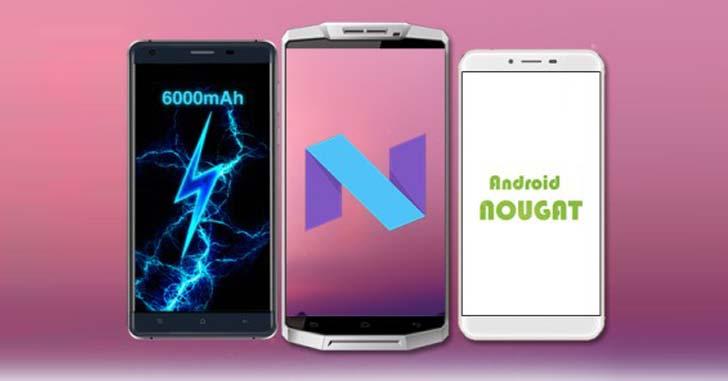 Планы компании Oukitel по обновлению смартфонов до Android 7.0