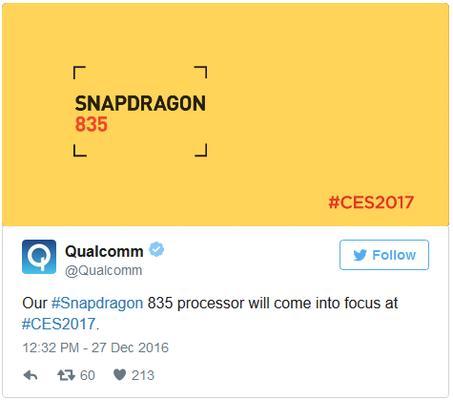 О Snapdragon 835 подробно расскажут на CES