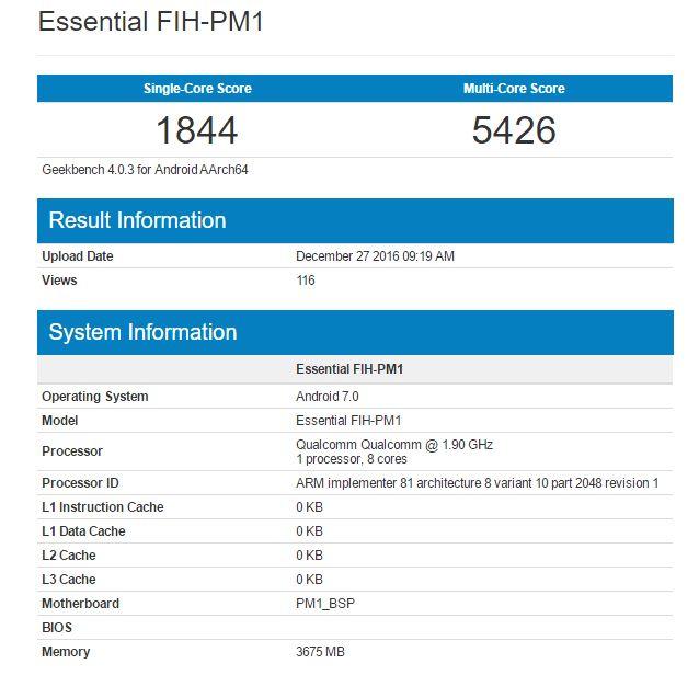 Snapdragon 835 предположительно протестирован в Geekbench