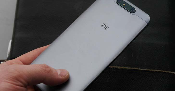 Первые фото и характеристики смартфона ZTE Blade V8