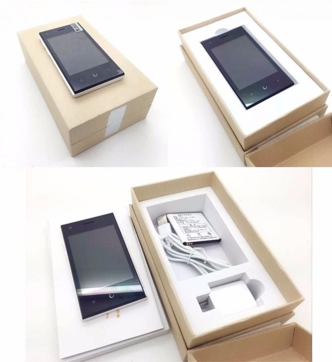 Macoox SANTIN Q727 - смартфон на Android за 22$