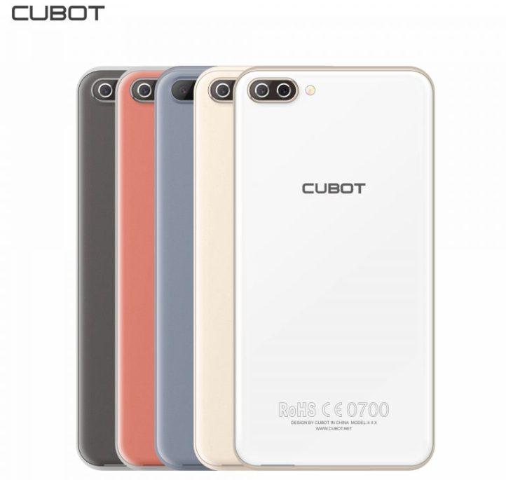 Cubot готовит смартфон Rainbow 2