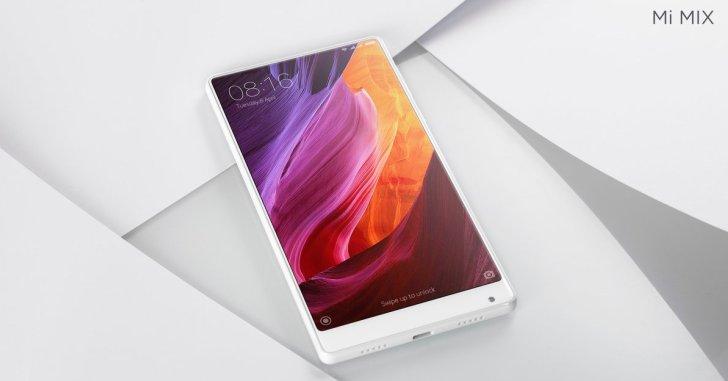 Xiaomi сделала белый Mi Mix